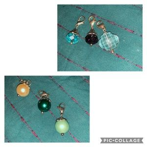 6 origami owl charms